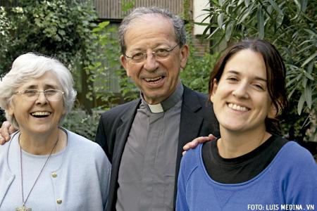 Carmen, Magdalena y Anastasio