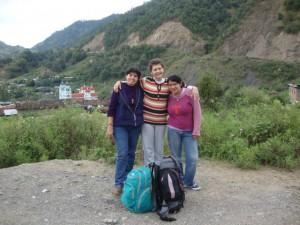 Isabel, Alma Rosa y Carolina