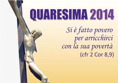 Quaresima 2014