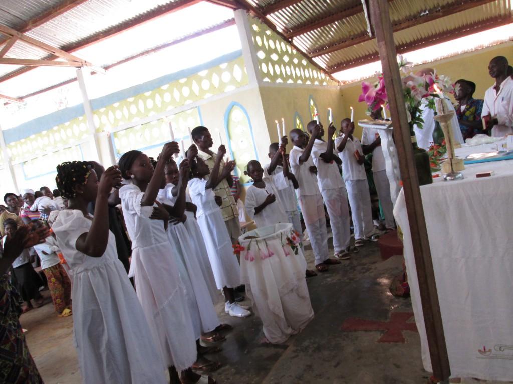 Baptismos na RCA