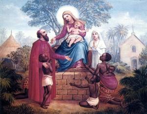 Comboni y la Virgen