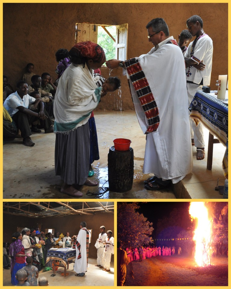 Vigil and easter sunday