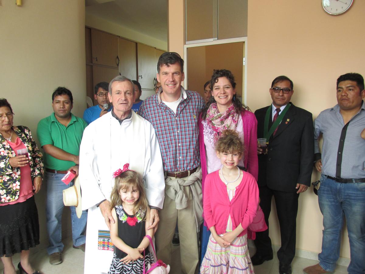 Misner in Peru