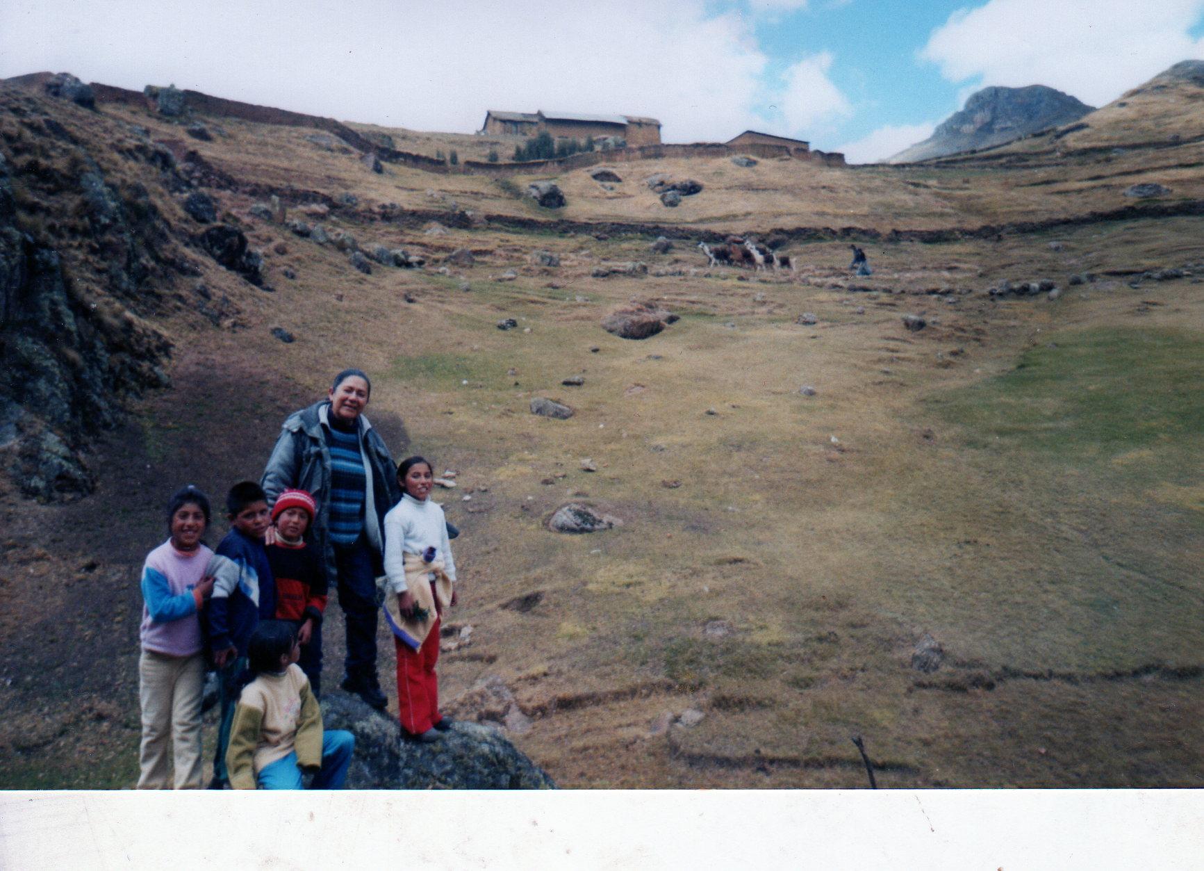 Adriana en Peru