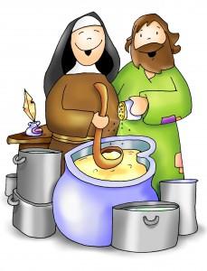 Dios anda entre los pucheros:  Jesús carpintero, hijo, hermano, vecino