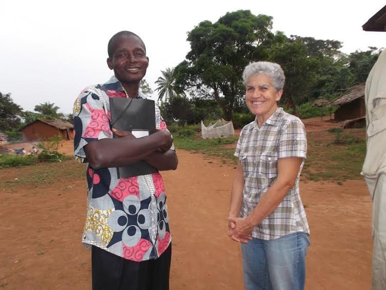 Regreso de Maria Augusta a Bangui