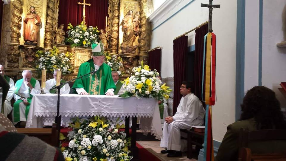 Missioning Mass for Pedro Nacimiento