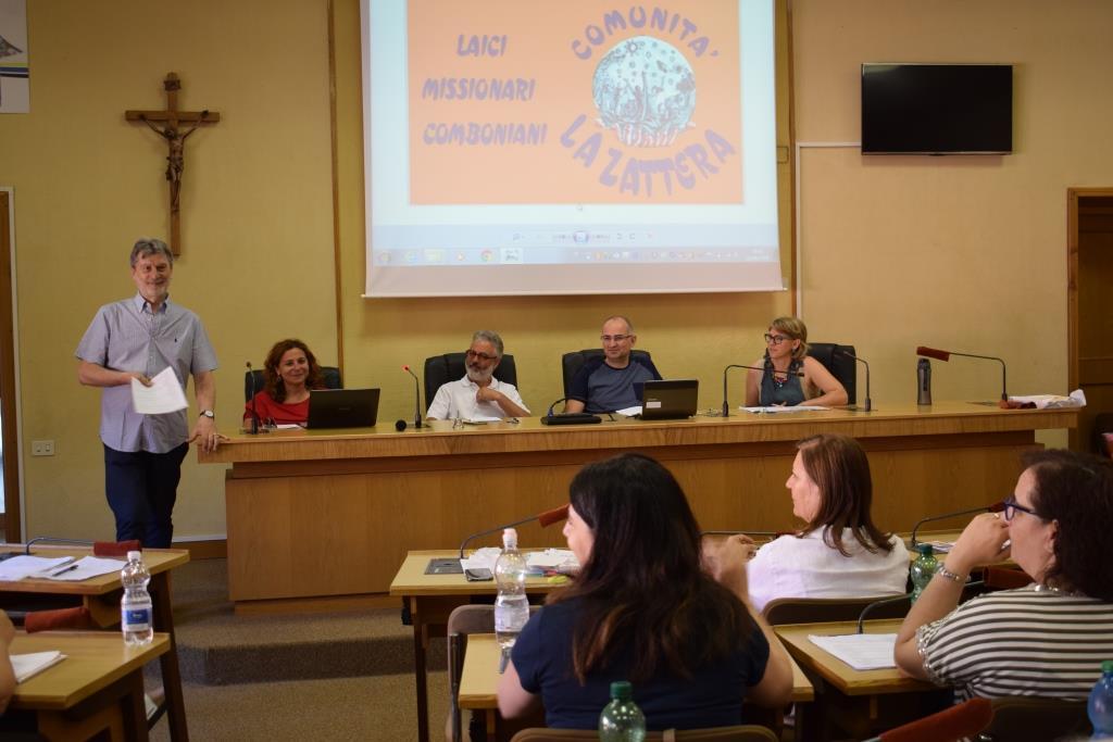 Incontro di laici e laiche degli istituti missionari in Italia