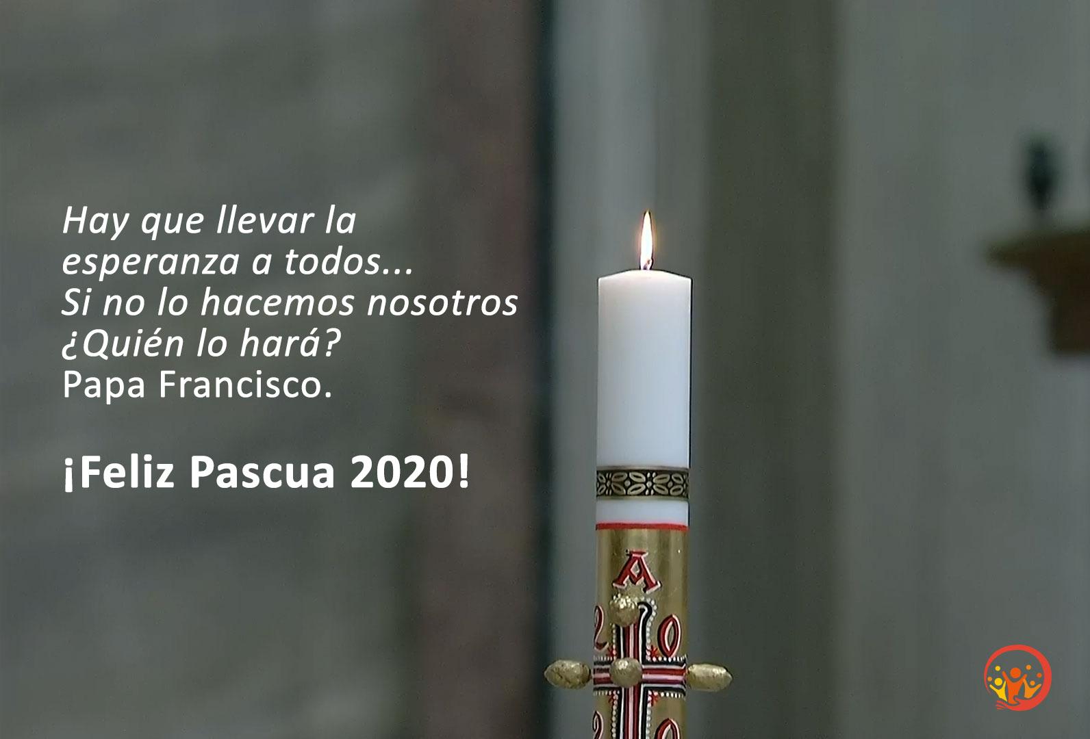 ¡Feliz Pascua 2020!