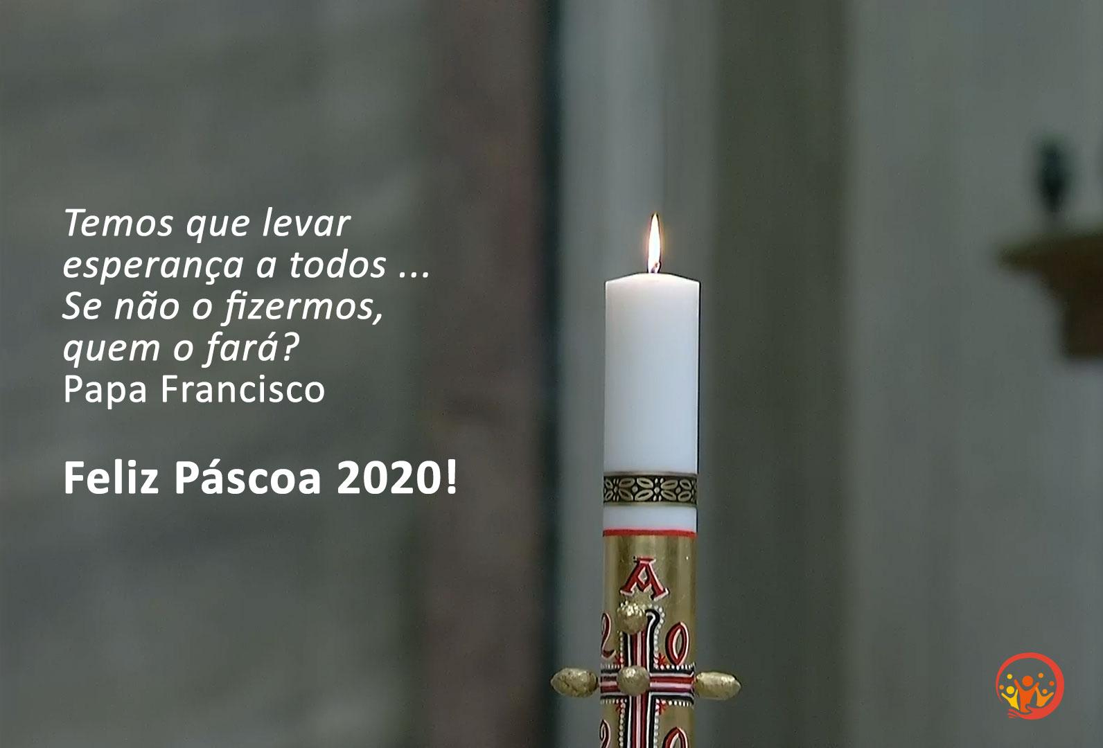 Feliz Páscoa 2020!
